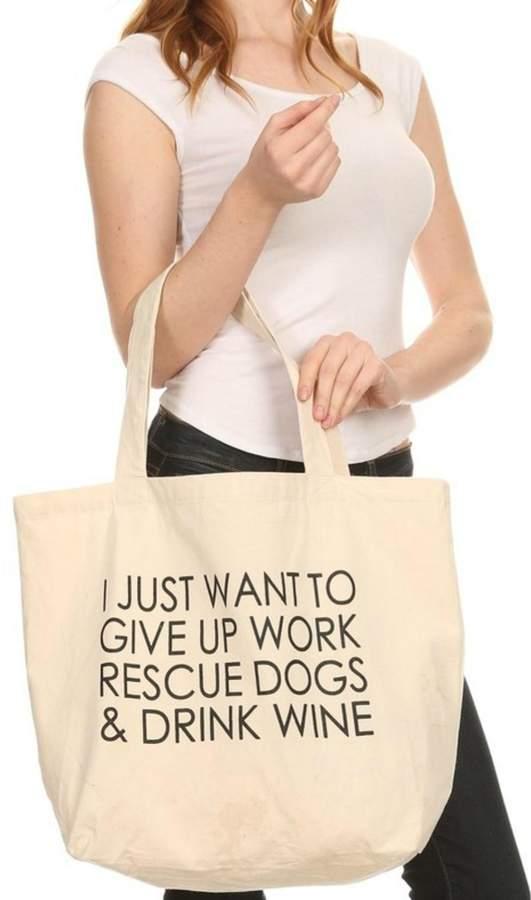 Imagine That Dogs&Wine Bag