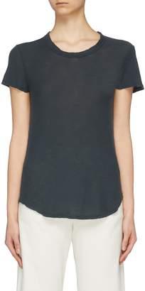 James Perse Overlock stitch garment dyed Supima® Cotton T-shirt