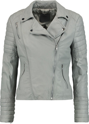 Muubaa Leather biker jacket $495 thestylecure.com