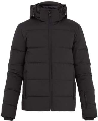 Fendi Monster-appliqué quilted hooded jacket