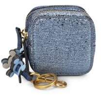 Anya Hindmarch Metallic Double-Zip Coin Purse