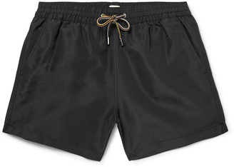 Paul Smith Slim-Fit Mid-Length Swim Shorts $125 thestylecure.com