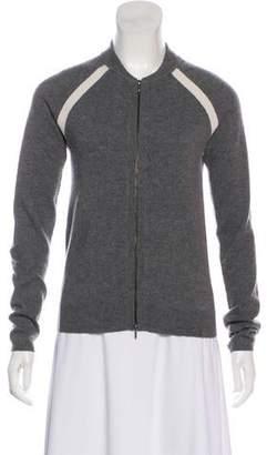 TSE Cashmere Zip-Up Casual Jacket