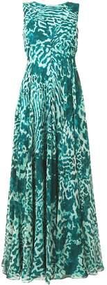 Max Mara silk georgette dress