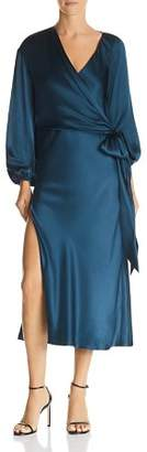 Diane von Furstenberg Michelle Mason Silk Faux-Wrap Dress
