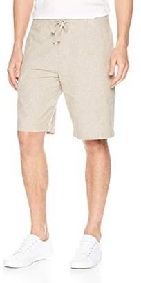 Perry Ellis Men's Linen Cotton Drawstring Short