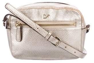 Diane von Furstenberg Metallic Leather Crossbody Bag