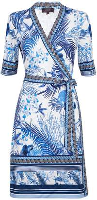 Hale Bob Naima Wrap Dress