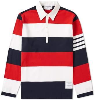 Thom Browne Stripe Rugby Shirt