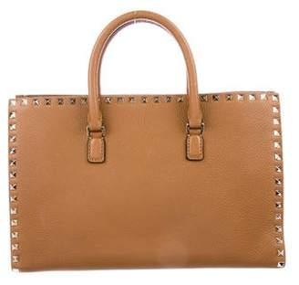 Valentino Rockstud Leather Tote w/ Tags
