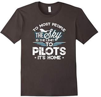 Pilot Aviator Flying Aircraft Aviation Novelty Tee