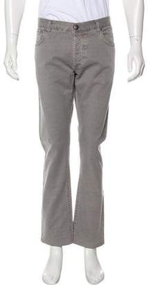 Isaia Woven Skinny Jeans