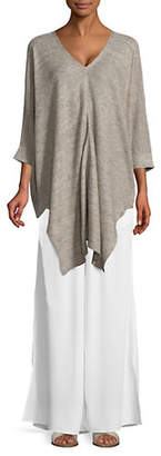 Eileen Fisher V-Neck Linen Tunic
