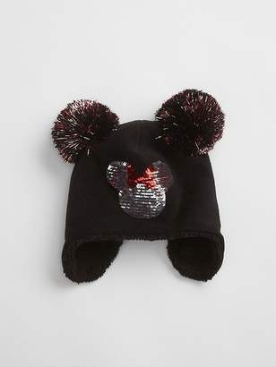 Gap GapKids | Disney Mickey Mouse Flippy Sequin Trapper Hat