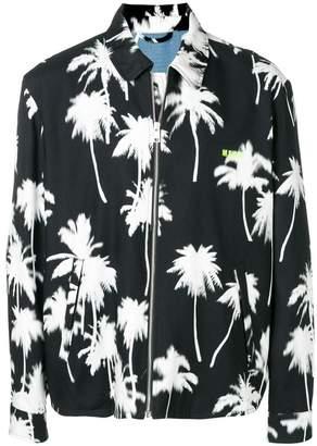 MSGM palm tree print jacket