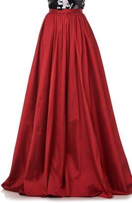Theia Love by Gathered Taffeta Ball Skirt