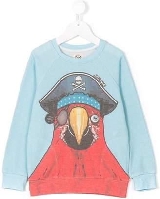 Madson Discount Kids pirate parrot print sweatshirt