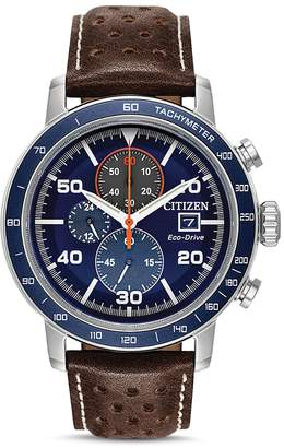 Brycen Blue Eco-Drive Chronograph, 44mm