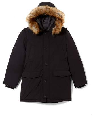 Vince Camuto Hooded Down Snorkel Coat