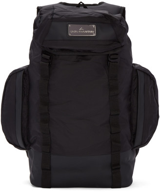 adidas by Stella McCartney Black Multi-Pocket Athletic Backpack $170 thestylecure.com