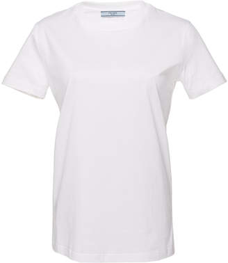 Prada Set-Of-Three Cotton-Jersey T-Shirts