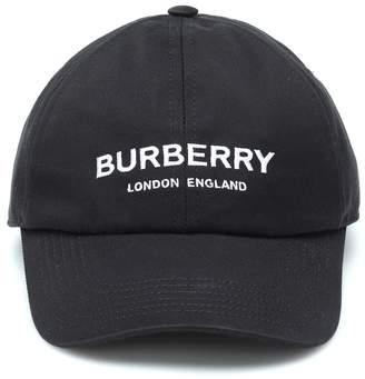 Burberry Embroidered cotton baseball cap