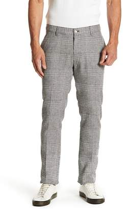 Vince Camuto Patterned Flat Front Stretch Fit Pants