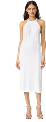 DKNY Sleeveless Draped Dress $355 thestylecure.com