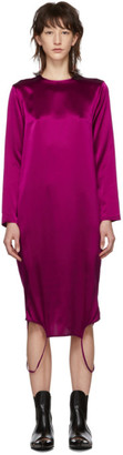 Marques Almeida Pink Convertible Twisted Dress
