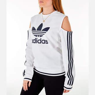 adidas Women's Cold Shoulder Cutout Sweatshirt