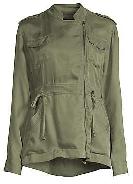 Rails Women's Miles Asymmetric Zip Utilitarian Jacket