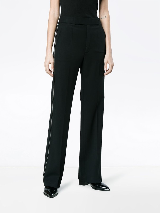 Helmut Lang zip suit pants
