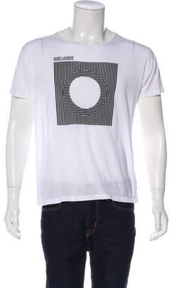 Saint Laurent 2015 Geometric Graphic Print T-Shirt