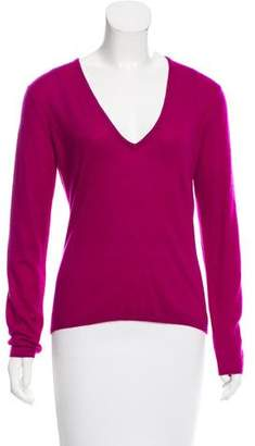 Christian Dior Cashmere V-Neck Sweater