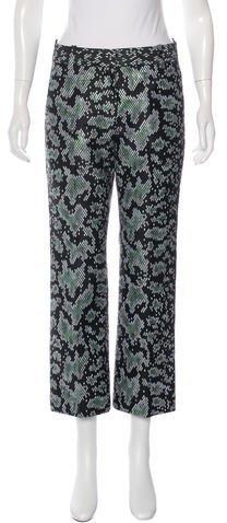 3.1 Phillip Lim3.1 Phillip Lim Metallic Cropped Pants