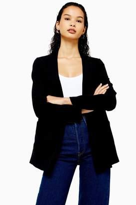 Topshop Womens Black Chuck On Jacket - Black