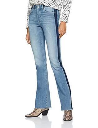 Silvian Heach Women's Andomarca(Farrah) Flared Jeans,((Size: Taglia Produttore 27)