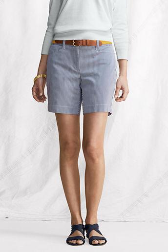 Lands' End Women's Regular Fit 2 Stretch Bedford Shorts