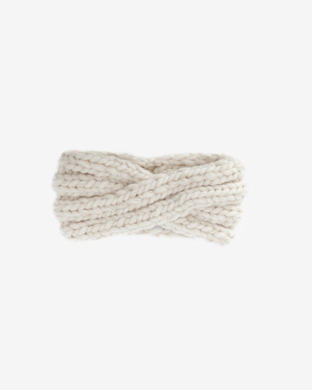 Eugenia Kim Metallic Thread Knit Headband