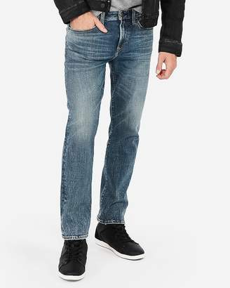 Express Slim Straight 365-Comfort 4-Way Stretch Jeans
