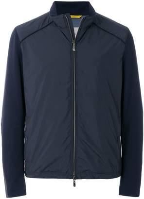 Canali casual zipped jacket