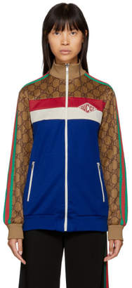 Gucci Multicolor GG Supreme Track Jacket