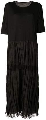 DAY Birger et Mikkelsen Uma Wang pleat skirt T-shirt dress