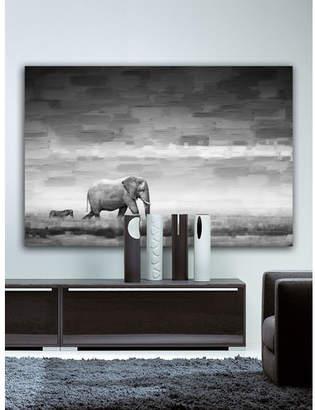 Parvez Taj Elephant Canvas Wall Art