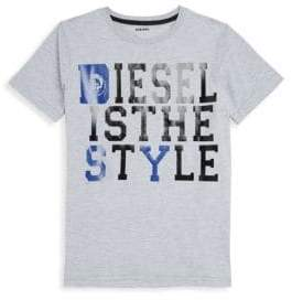 Diesel Boy's Short-Sleeve Graphic Tee