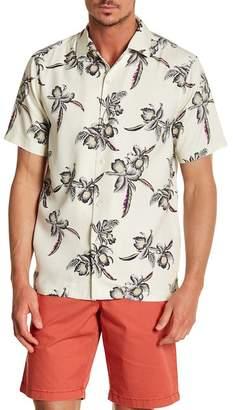 Tommy Bahama Iris Oasis Trim Fit Silk Shirt