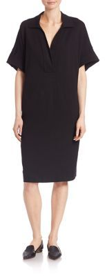 Lafayette 148 New York Punto Milano Mitra Shift Dress $448 thestylecure.com
