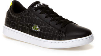 Lacoste Kids' Carnaby Evo Leather-look Trainers