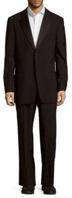 Giorgio Armani Classic Fit Solid Wool Suit