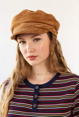 Azalea Sailor Corduroy Hat
